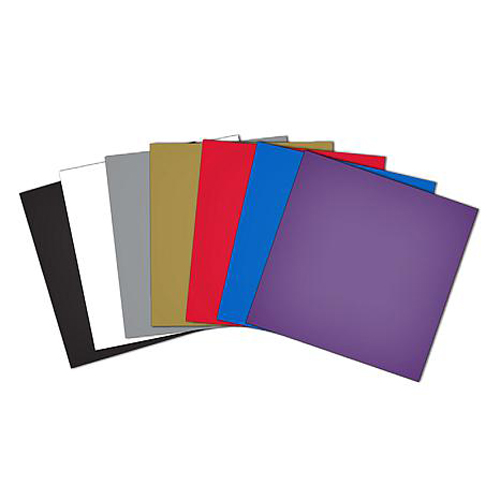 Brother Scan N Cut or Design N Cut Assorted Colours Pack of 10 Sheet Adhesive Vinyl New