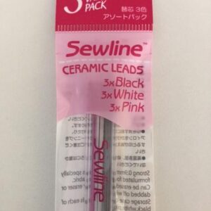 Sewline Trio Colours Erasable Pencil REFILLS for Sewing Embroidery Patchwork New