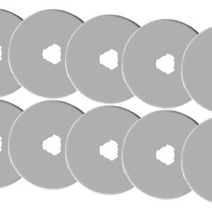 Sew Better Set of 10 Rotary Cutting Blades 28mm Fits Most Brands Olpha Clover NEW
