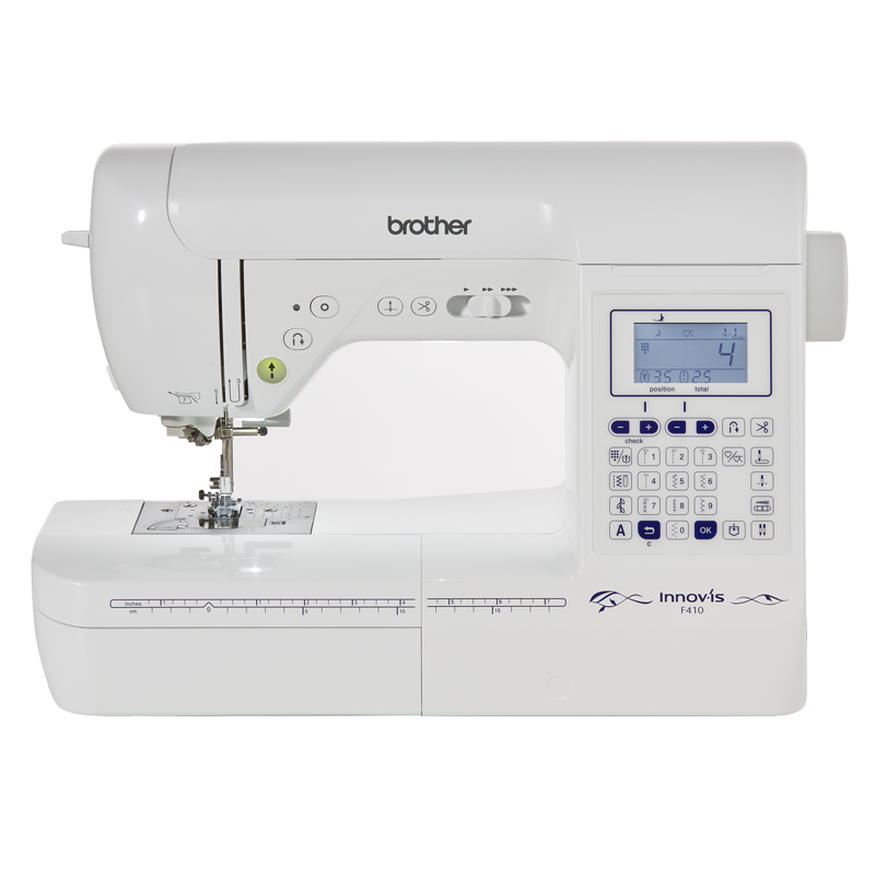 Brother F410 Computerized Sewing Machine Brand New Great