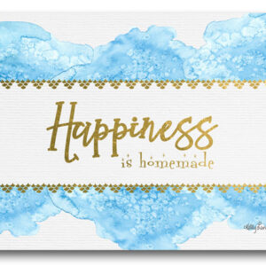 Country Kitchen Cork Backed Placemats AND Coasters HAPPINESS CHEERS Set 6 NEW