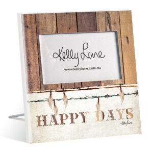 French Country Vintage Inspired Photo Frame HAPPY DAYS 6x4inch New