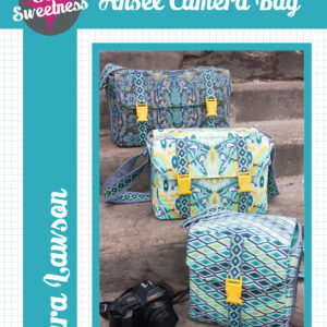 Quilting Sewing Bag Pattern ANSEL CAMERA BAG by Sew Sweetness NEW