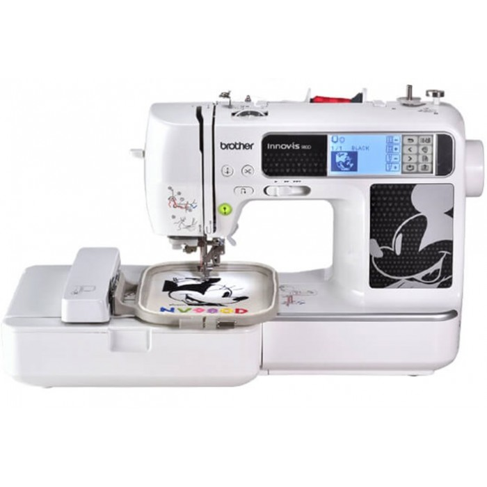Brother Innovis NV40D Computerized Sewing Embroidery With Disney Unique Brother Disney Sewing Machine