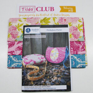 Tilda Club FEBRUARY 2018 BLUE Quilting Sewing Fabric Issue Craft Pattern Kit NEW