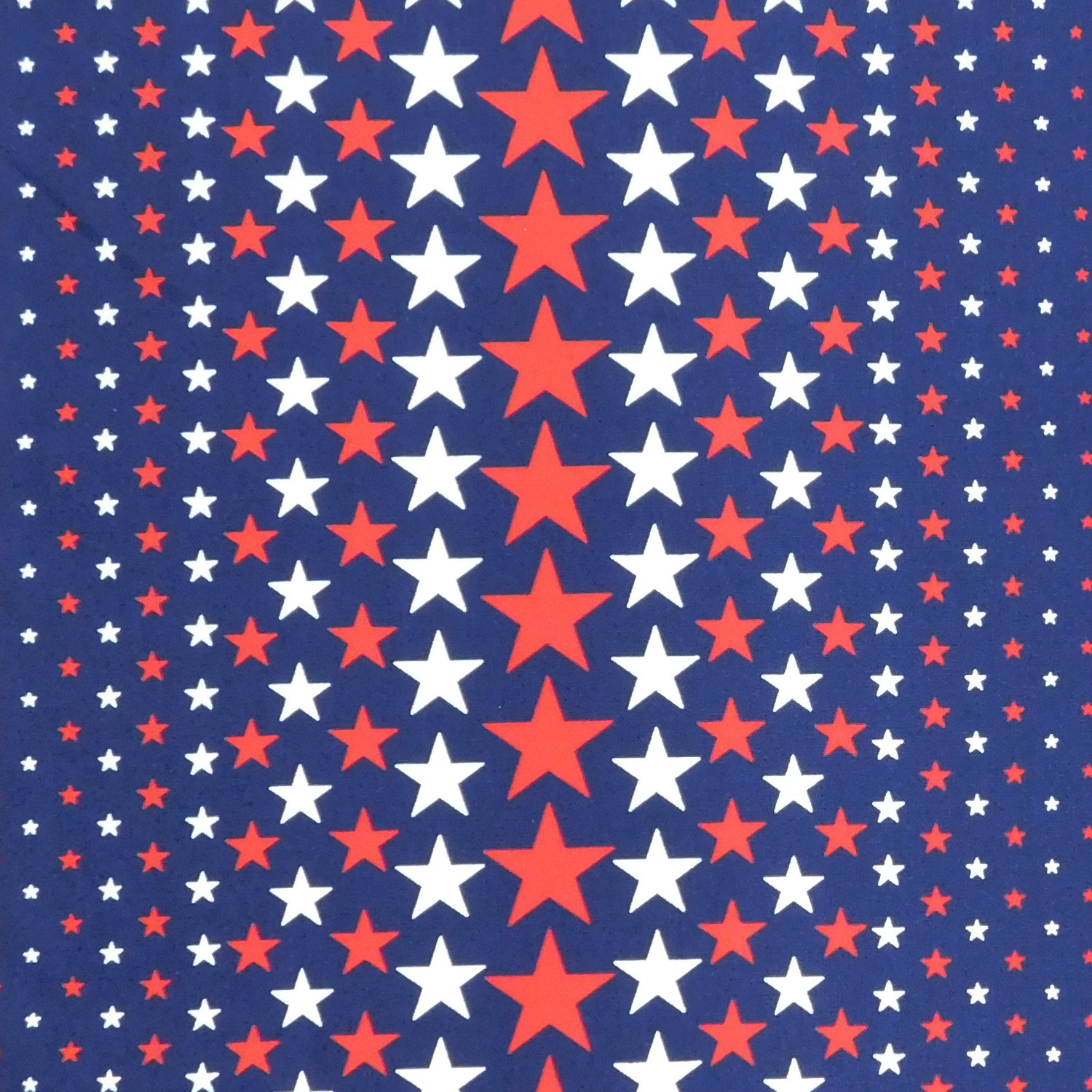 Patchwork Quilting Sewing Fabric Blue Holiday Stars 50x55cm FQ New Material