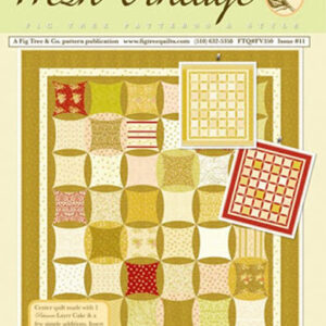 Quilting and Sewing Pattern Fig Tree & Co FRESH VINTAGE PATISSERIE New