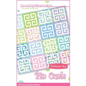 Quilting Sewing Patchwork PIN CURLS ME & MY SISTER Pattern Quilts New