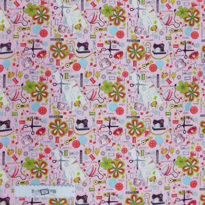 Patchwork Quilting Sewing Fabric QUILTED COTTAGE 50x55cm FQ New