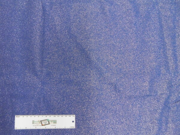 Patchwork Quilting Sewing Fabric METALLIC BLUE 50x55cm FQ New