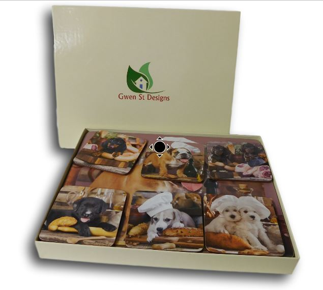 Country Kitchen Cork Backed Placemats AND Coasters KITCHEN