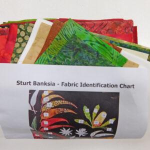 Quilting Sewing Australian Flora Mandala Quilt FABRIC KIT STURT BANKSIA New