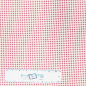 Patchwork Quilting Sewing Fabric MINI CHECK GINGHAM PINKY RED 50x55cmFQ New