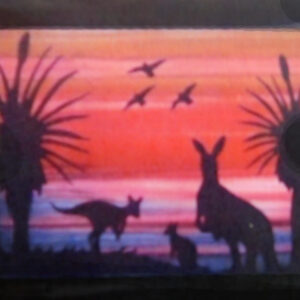 Quilting Sewing AUSTRALIAN Animal KANGAROO Quilt Pattern Kit including Fabric New
