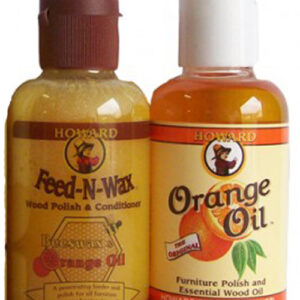 Howard Products Wooden Feed n Wax and Orange Oil Trial Pack Size Restore Timber