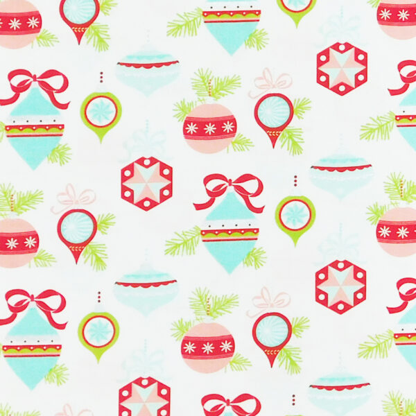 Patchwork Quilting Sewing Fabric Christmas Decorations 50x55cm FQ New Material