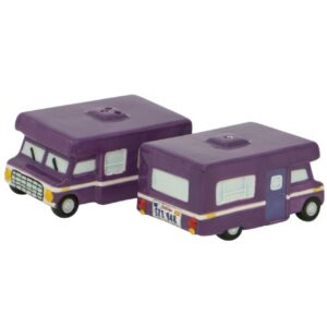French Country Collectable Novelty RV Motorhomes Salt and Pepper Set New