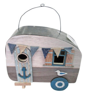 French Country Vintage Inspired Ornamental Wooden Caravan 1 Decor great Gift Idea New