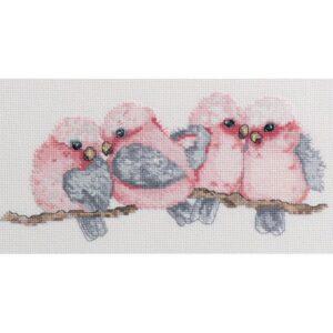 DMC Australian Collection Cross Stitch Kit inc Threads Galahs New 582106 LS Davies
