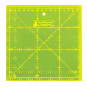 "Quilting Patchwork Sewing Template Square 12.5""x12.5"" Matilda's Own New"