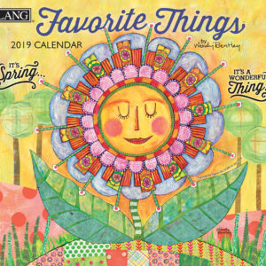 2019 Lang Calendar FAVOURITE THINGS New Calender Fits Wall Frame Free Postage