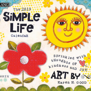 2019 Lang Calendar SIMPLE LIFE New Calender Fits Wall Frame Free Postage