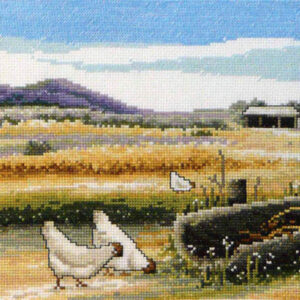 Country Threads Cross Stitch SWEEPING PLAINS Pattern New X Stitch FJP-1057 (CT)