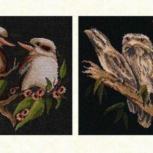 Country Threads Cross Stitch AUSTRALIAN BIRDS 2 Pattern New X Stitch FJP-1040-46 (CT)