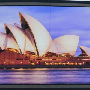 Patchwork Quilting Sewing Fabric Sydney Opera House Aussie Panel 60x110cm New