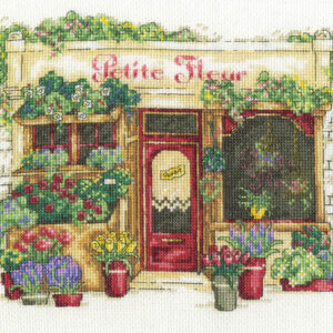 DMC Cross Stitch Kit LE FLEURISTE Counted X-Stitch with Threads New - BK1671