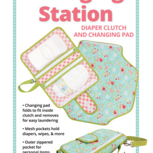 Quilting Sewing Patchwork Changing Station Pattern By Annie New