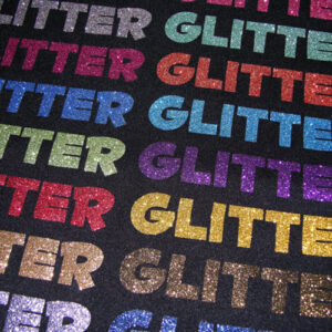 Vinyl HTV Glitter Flex Ultra for Clothing, Wood and More - Assorted Colours Sheets