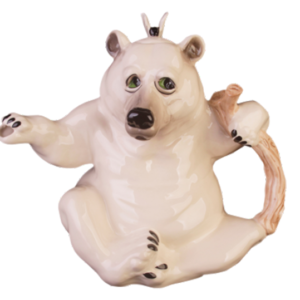 Collectable Novelty Kitchen Teapot Polar Bear China Teapot New