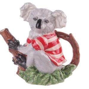 Collectable Novelty Kitchen Teapot Koala Blue Sky China Tea Pot New