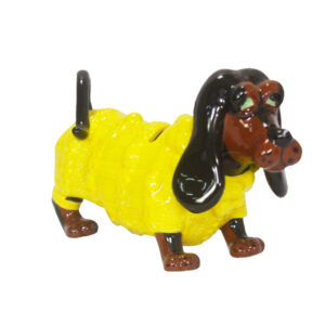 French Country Fritzie The Sausage Dog Money Box Design China New