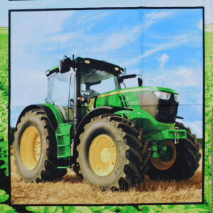 Patchwork Quilting Sewing Fabric JOHN DEERE MIXED Panel 60x110cm New