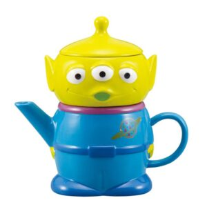 Collectable Novelty Kitchen Teapot Pixar Toy Story Alien Tea For One China Cup & Tea Pot Set New