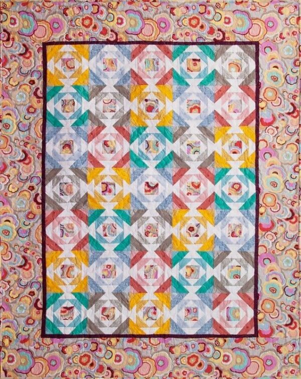"""Quilting Patchwork Sewing Template PINEAPPLE PLAYTIME 4-10"""" Matilda's Own New"""