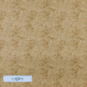 Patchwork Quilting Sewing Fabric MARBLE BLENDER TAN 50x110cm 1/2m New