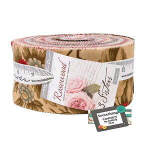 Moda Quilting Jelly Roll Sewing Patchwork ROSEWOOD 2.5 Inch Strips Fabrics New