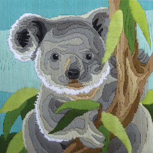 Country Threads Long Stitch Kit Australian Koala New FLS-5010 Inc Threads