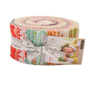 Quilting Jelly Roll Sewing Patchwork MODA FARMHOUSE II 2.5 Inch Strips Fabrics New