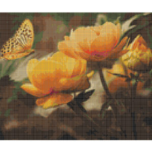 Cross Stitch Pattern BUSY BUTTERFLY New X Stitch Gwen Street Designs New