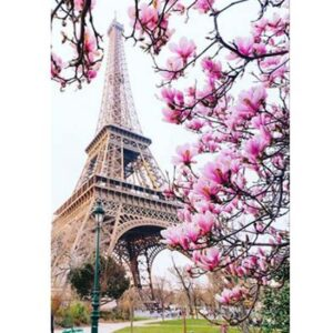 5D Diamond Painting Square Drills EIFFEL TOWER incl Canvas, Beads, Applicator New