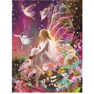 5D Diamond Painting Square Drills FAIRIES incl Canvas, Beads, Applicator New