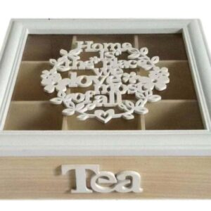 tea bag box
