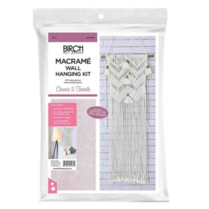 Creative Macrame Kit CHEVRON AND TASSLES Make your Own Wall Hanging Kit New