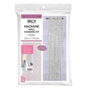 Creative Macrame Kit LEAVES and BRANCHES Make your Own Wall Hanging Kit New