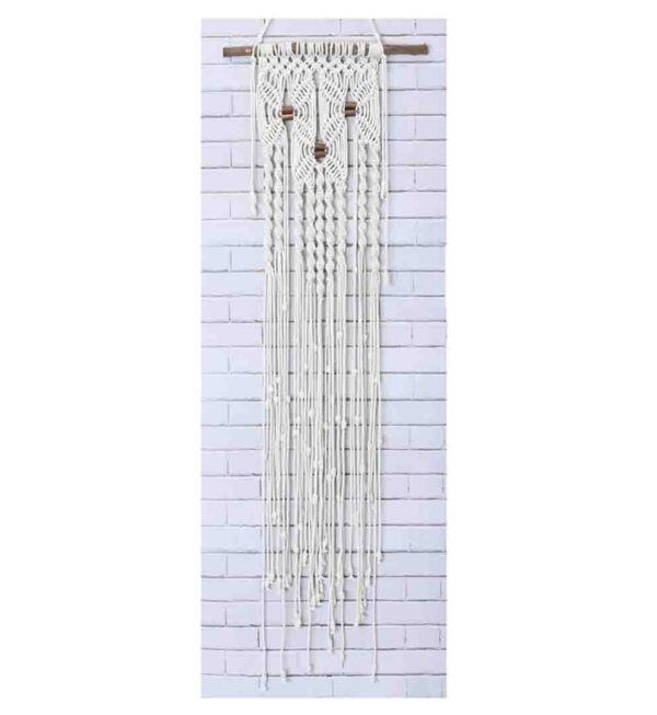 Creative Macrame Kit THREE FLOWERS Make your Own Wall Hanging Kit New