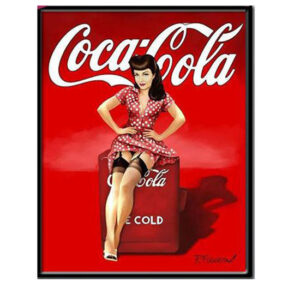 5D Diamond Painting Square Drills VINTAGE COKE A COLA incl Canvas, Beads, Tool New